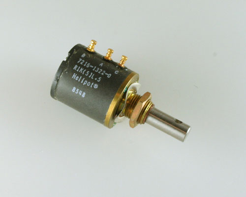 Picture of 7216-1322-0 BECKMAN potentiometer 1 kOhm,  Multiturn