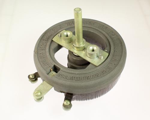 Picture of R-4-225-3/8X2 1/8-F MALLORY potentiometer 4 Ohm, 225W RHEOSTAT 225 Watt