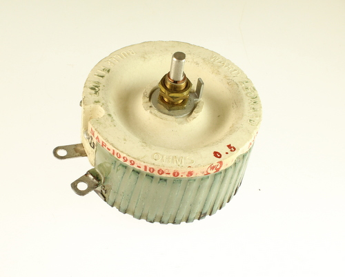 Picture of NAF-1099-100-0.5 WARD-LEONARD potentiometer 0.5 Ohm, 100W RHEOSTAT 100 Watt