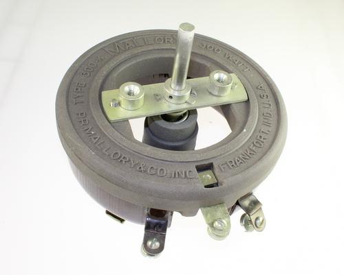 Picture of R1750-300W-2-F MALLORY potentiometer 1.75 kOhm, 300W Rheostat 300 Watt