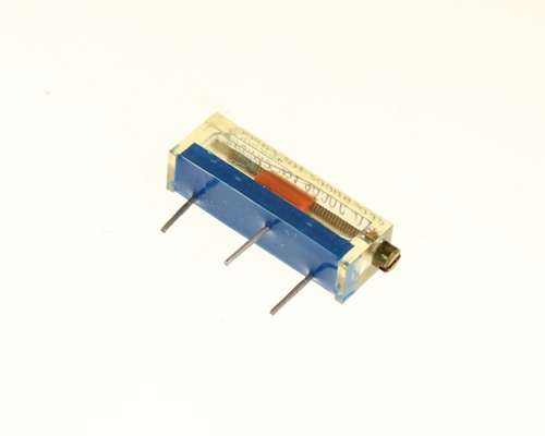 Picture of 3006P-007-201 Bourns potentiometer 200 Ohm, 0.75W Trimpot