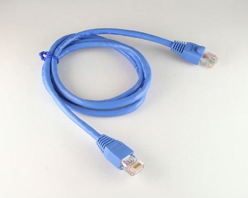 Picture of data cable patch cord 3 ft cables.