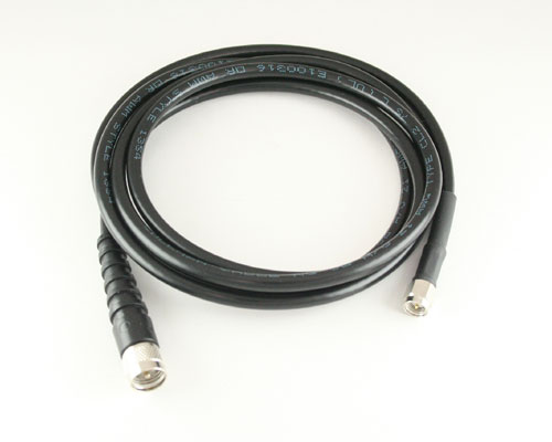 Picture of coaxial rf cables.