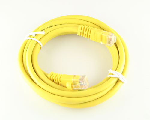 Picture of data cable patch cord 7 ft cables.