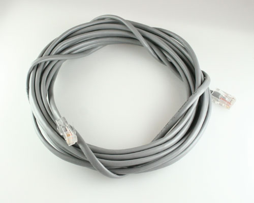 Picture of data cable patch cord 20 ft cables.