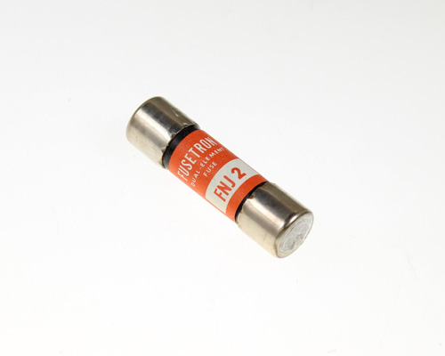 Picture of FNJ-2 FUSETRON fuse 2A 250V Cartridge 0.4x1.5in