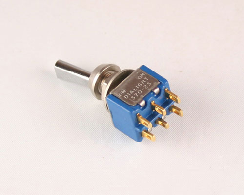 Picture of 571-2511-0601-011 DIALIGHT switch Toggle  Miniature