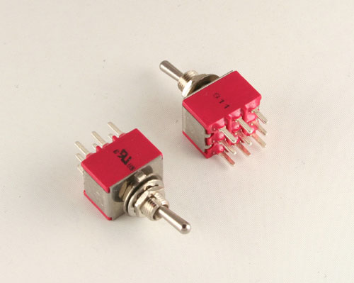 Picture of 34A3P11B1M2QE GRAYHILL switch Toggle  Miniature