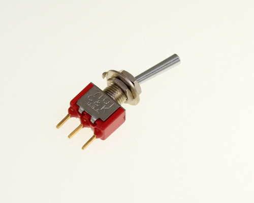 Picture of 7101L2YCB C&K switch Toggle  Miniature
