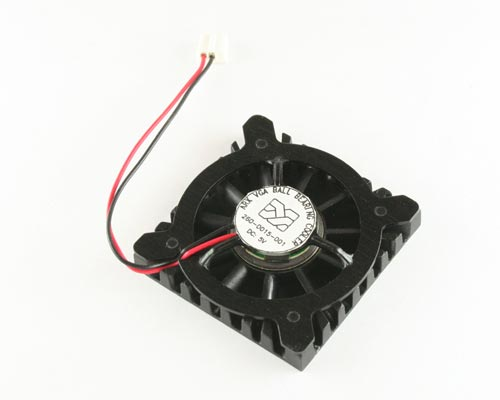 Picture of 260-0015-001 AAVID 5 VDC fan with heat sink