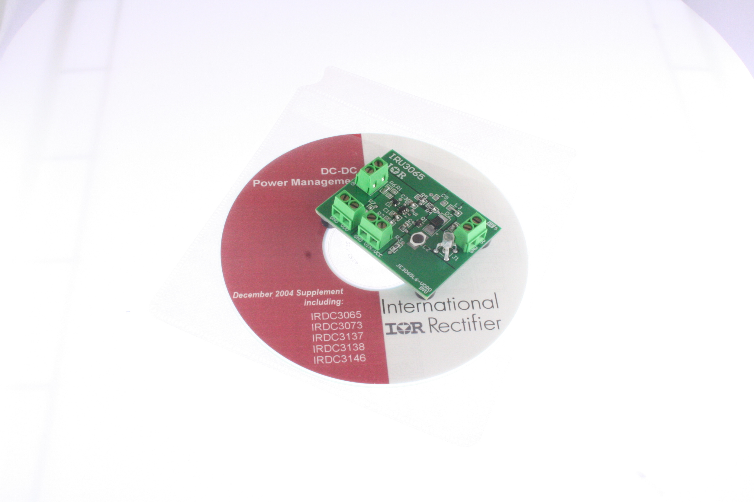 Picture of IRDC3065 IR Development kit