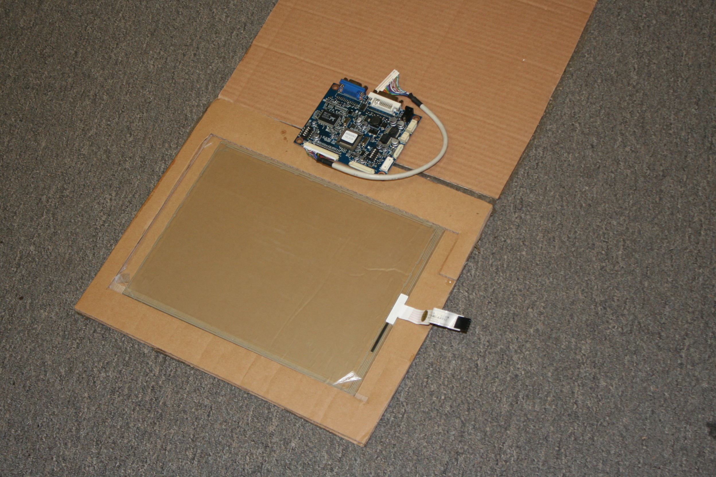 Picture of development > vtouch kit.