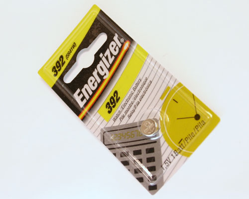Picture of 392 ENERGIZER battery