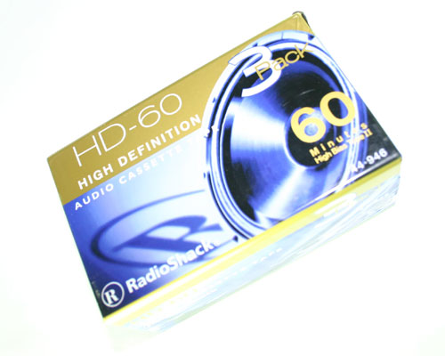 Picture of HD-60 RADIO SHACK TAPE