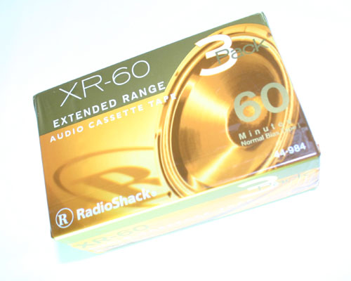Picture of XR-60 RADIO SHACK TAPE