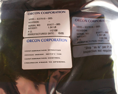 Picture of V895-637918-005 ORCON hardware
