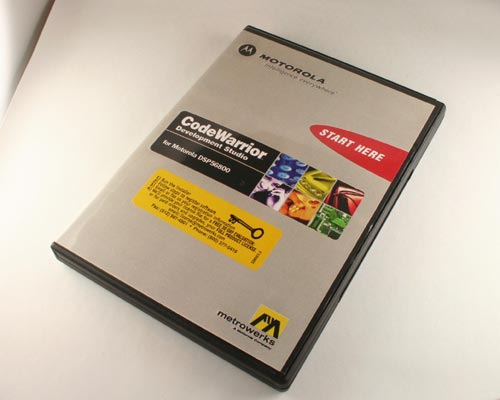 Picture of CWDSP56800 METROWERKS Computer Accessories Software