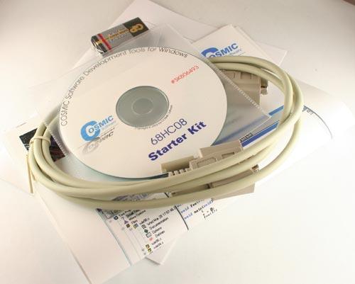 Development kit by COSMIC SOFTWARE New HC08 STARTER KIT