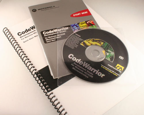 Picture of CWHC08STD METROWERKS Computer Accessories Software