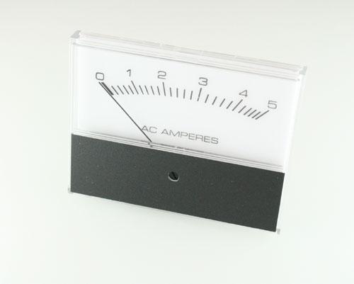 Picture of ampmeter meters.