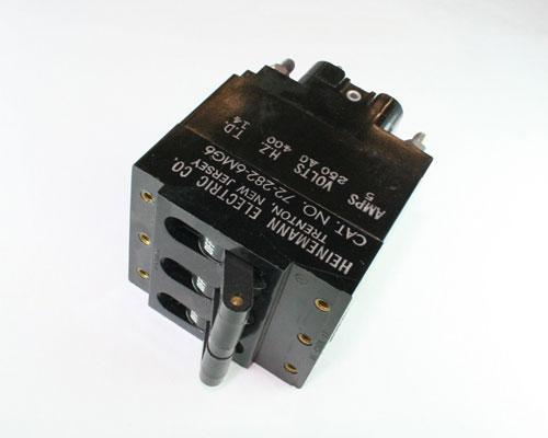 Picture of 72-282-6MG6 HEINEMANN CIRCUIT BREAKER