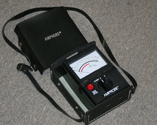 Picture of test equipment multimeter other.