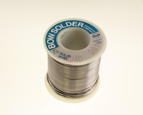 Picture of 60/40-0.031 Bow Electronic soldering equipment wire solder